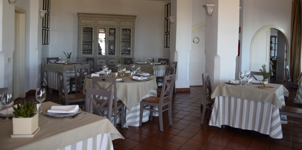 Dining Room at Cortijo Bravo Hotel & Restaurant