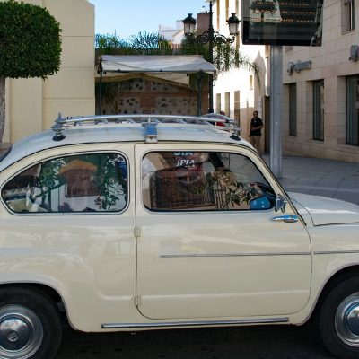 Parking in Velez, Fiat 500
