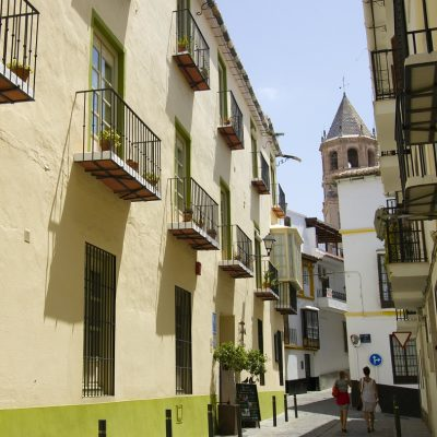 Typical Street in Velez-Malaga
