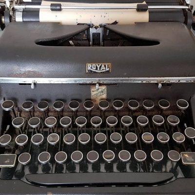 Maria Zambrano's Typewriter