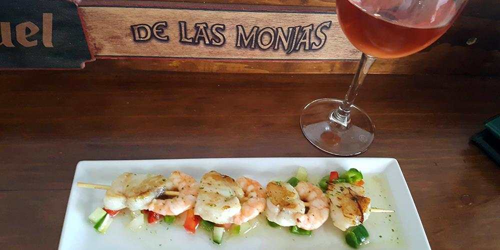 Tapas in Caserio de las Monjas, Velez-Malaga