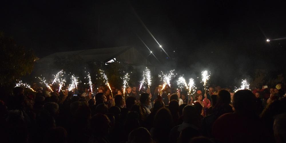 Evening Celebrations at Velez-Malaga's Romeria