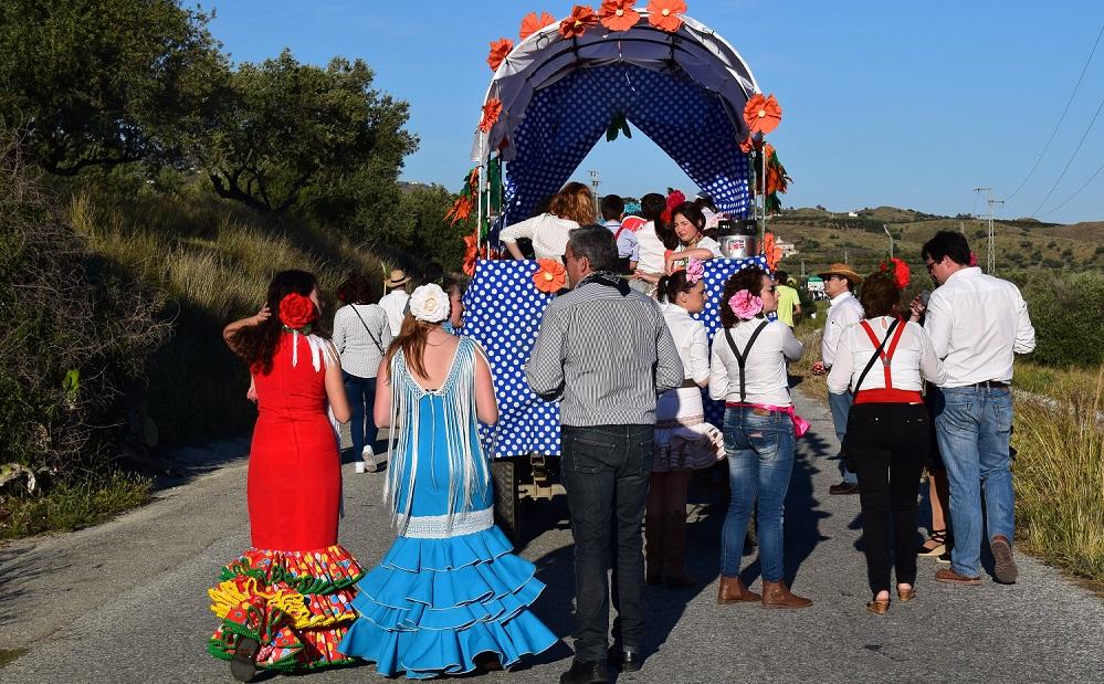 Romeria Enroute Velez-Malaga