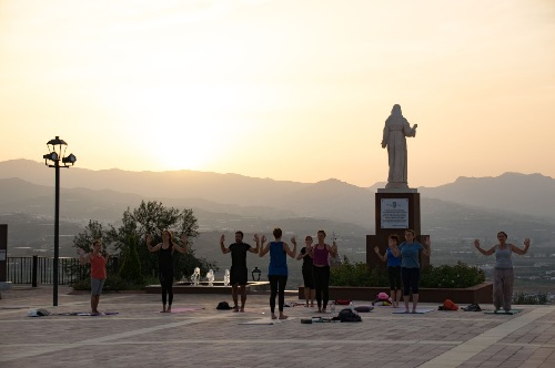 Yoga at Dawn in Velez-Malaga