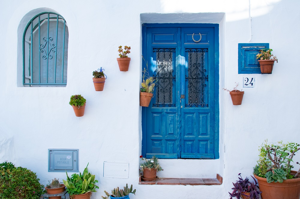 Blue Doors of Frigliana