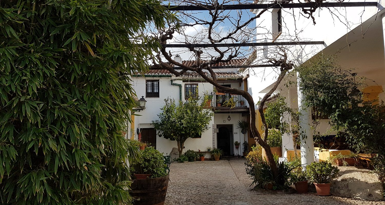 Comares in the Axarquia Courtyard