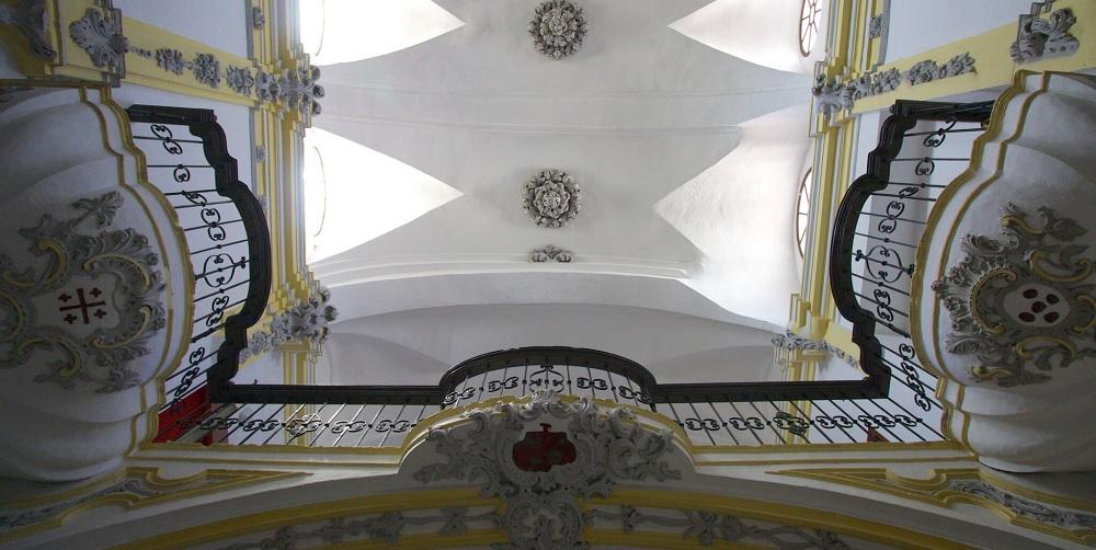 Interior of San Francisco Church by Anna Lawlor