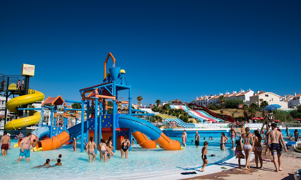 Aquavelis Waterpark in Velez-Malaga