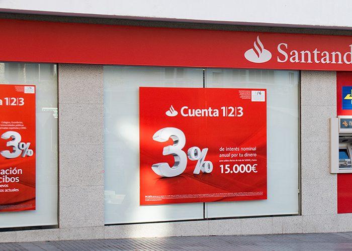 Banco Santander Velez malaga