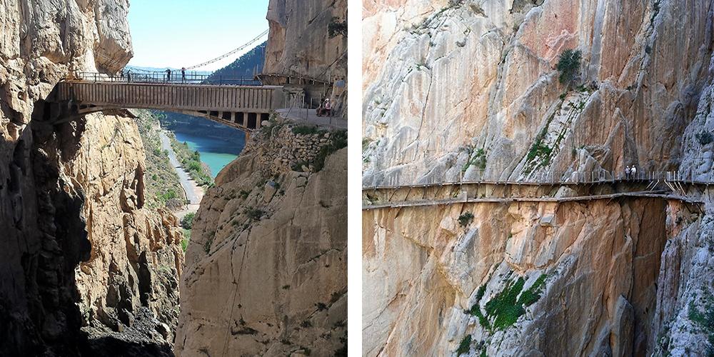 caminito del rey collage andalucia