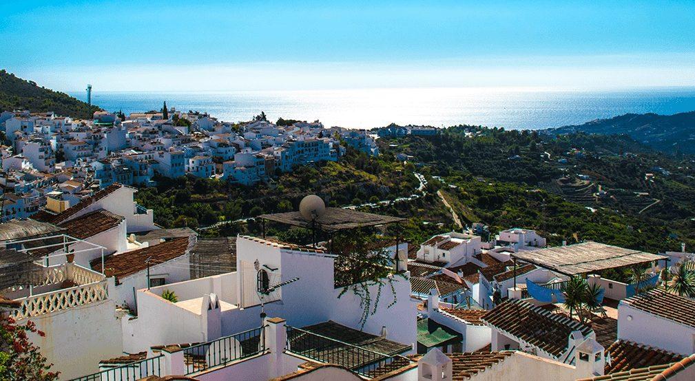 View Over Frigliana Andalucia