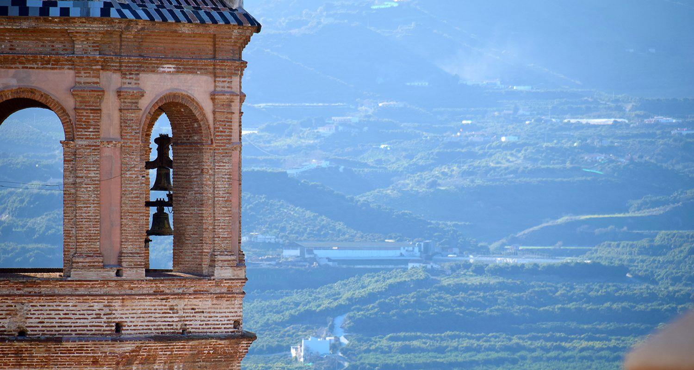 San Juan Church Velez Malaga close up