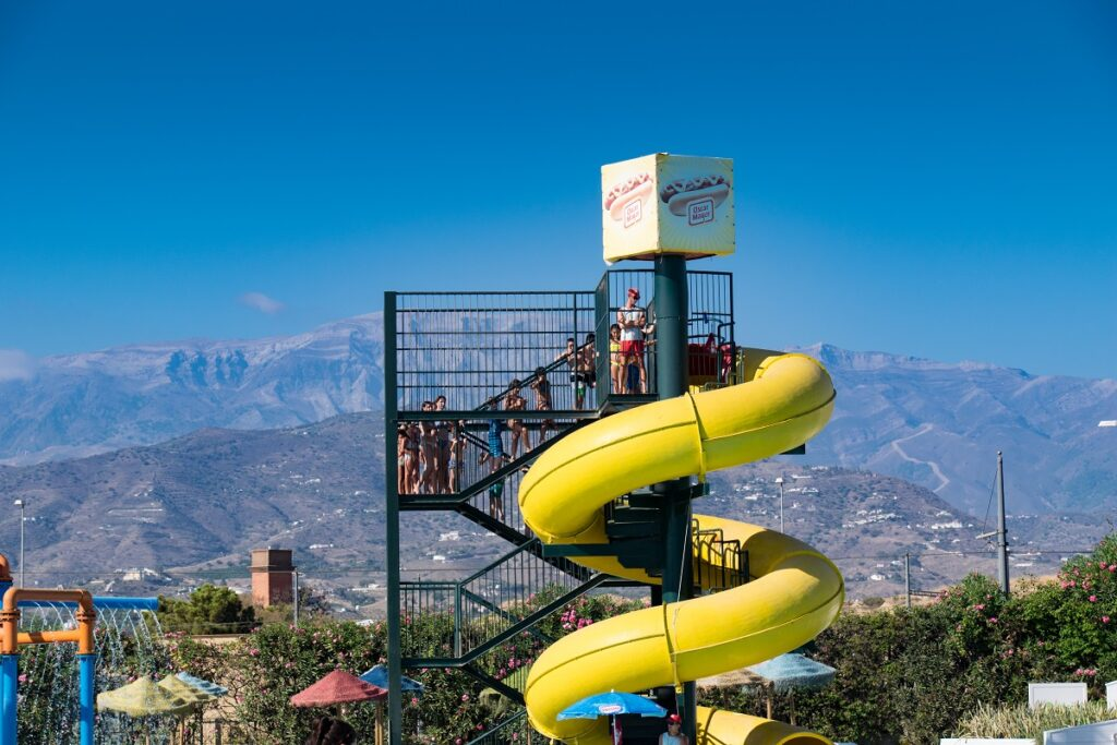 AquaVelis Waterpark in Velez