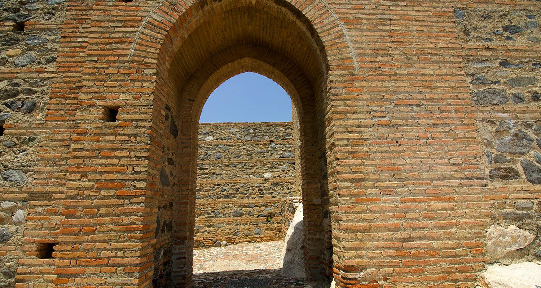La Fortaleza Velez Malaga archway