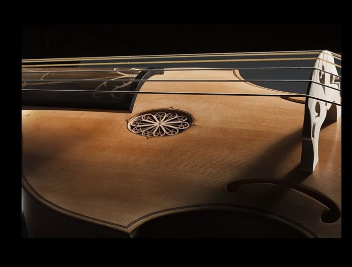 old Sephardic cello