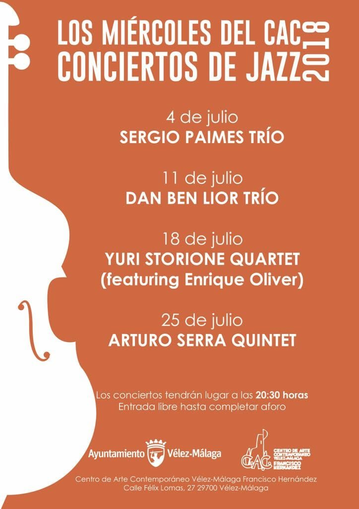jazz poster - cac velez-malaga