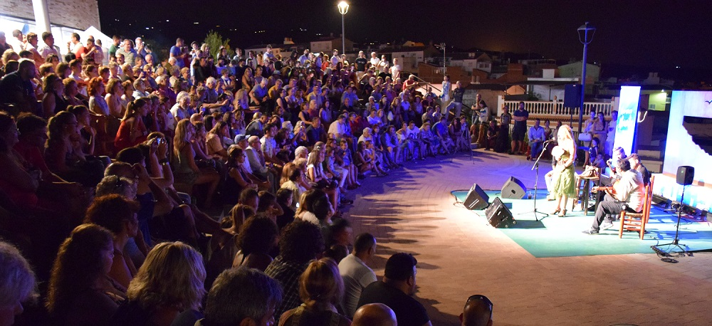 Open-air concerts at Cerro de San Cristobal Velez-Malaga