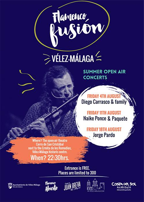 august flamenco poster