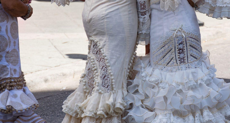 flamenco dresses at velez feria