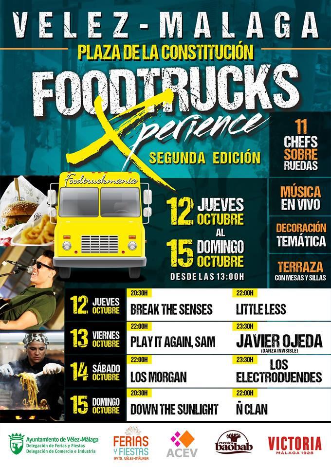 food trucks schedule in velez