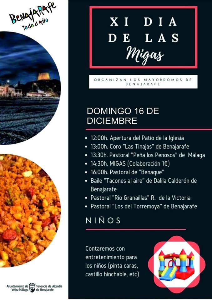 Fiesta de Migas, Axarquia