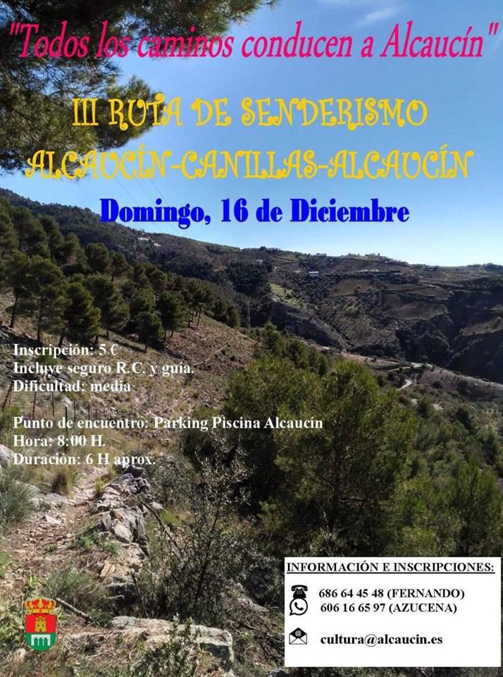 Hiking in Alcaucin