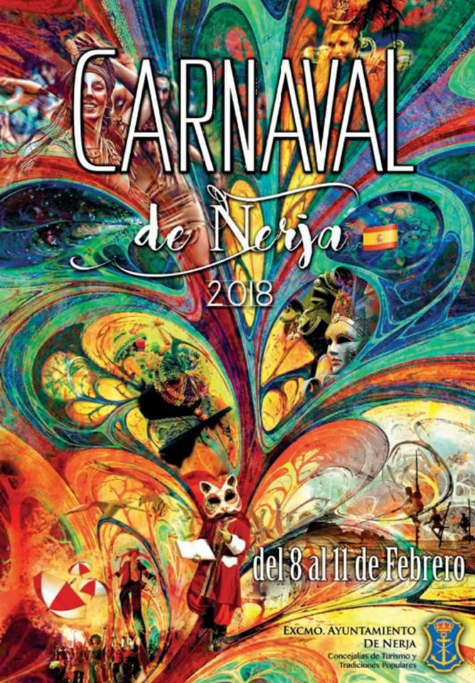 nerja carnival poster 2018