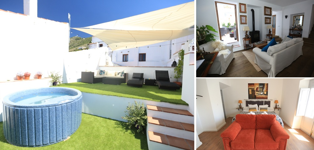 Millers of Frigiliana rooftop and rooms
