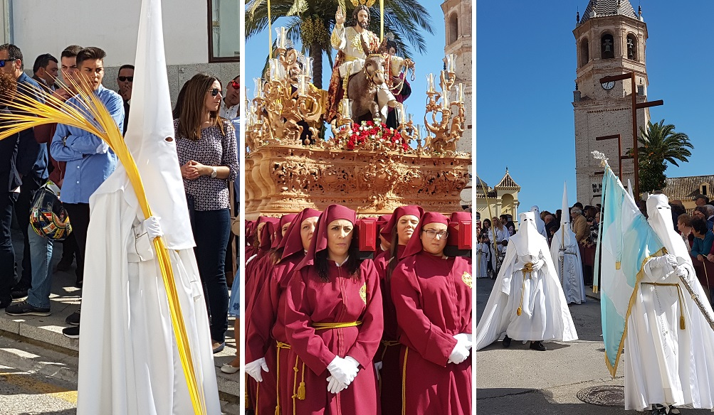 Palm Sunday, Easter in Velez-Malaga