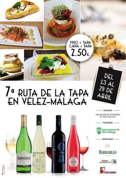 Ruta de Tapa Velez-Malaga, 2018