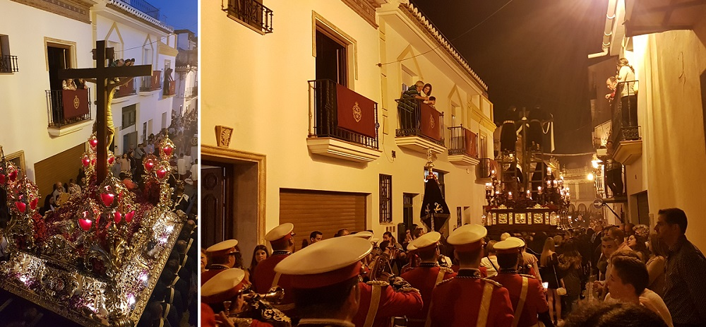 The Crucifixion On Good Friday in Velez-Malaga