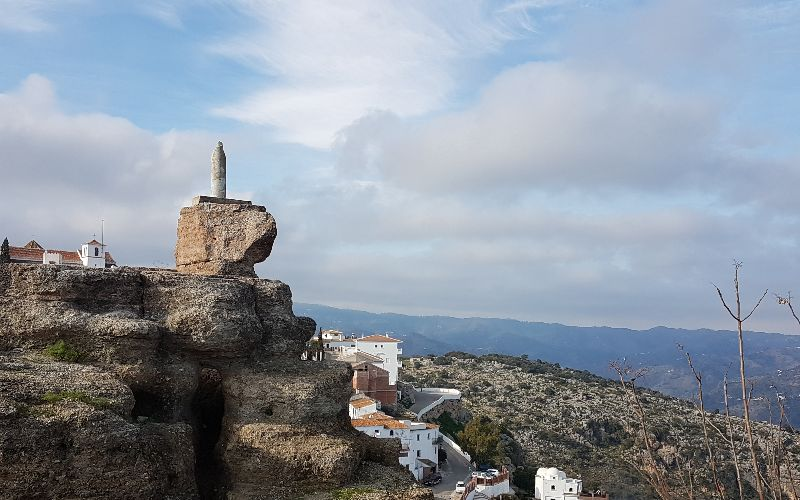 View from Castillo in Comares