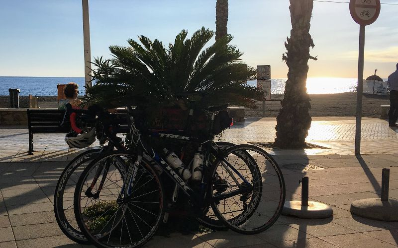 Cycling in Malaga province