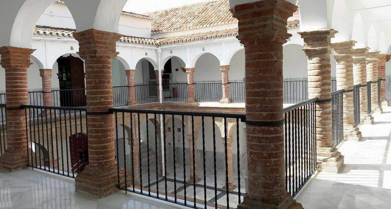 patio museum of velez malaga