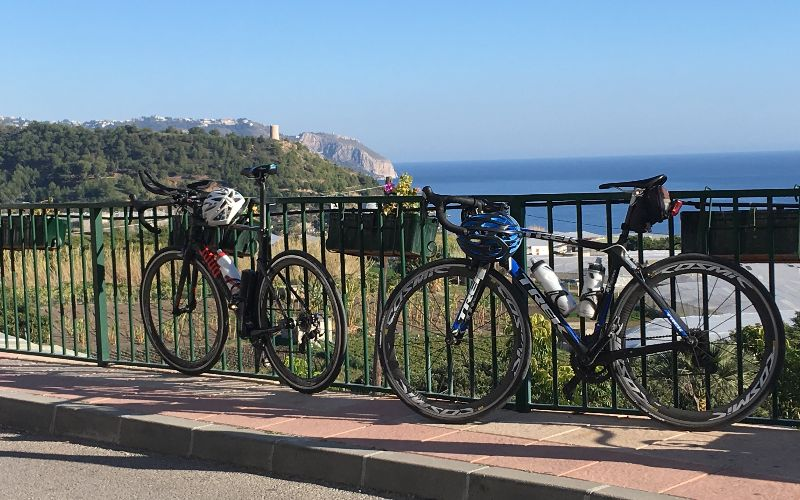 Cycling the Coast East of Malaga