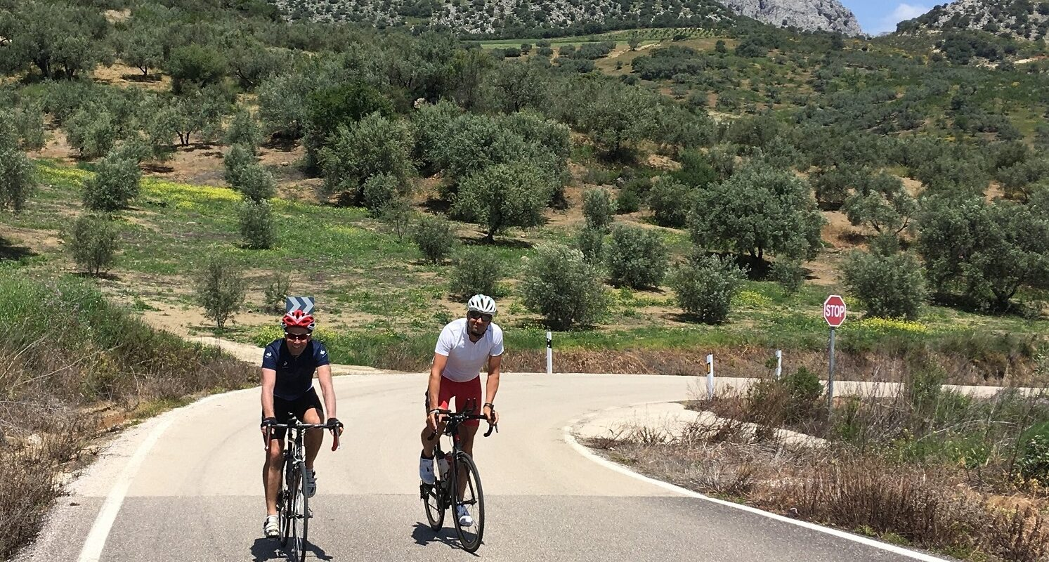 Road Bikers Velez-Malaga to Periana Loop