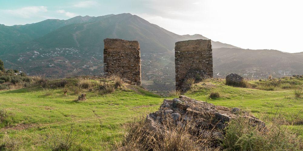 Castillo de Zalia, Alcaucin