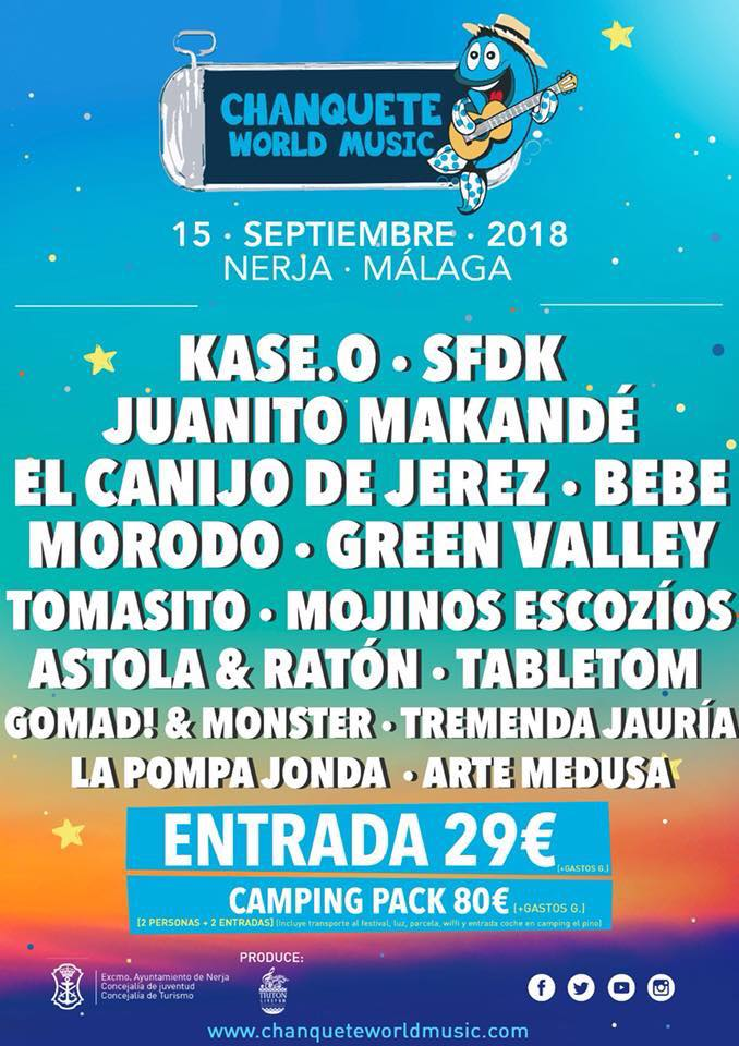 chanquete world music festival nerja
