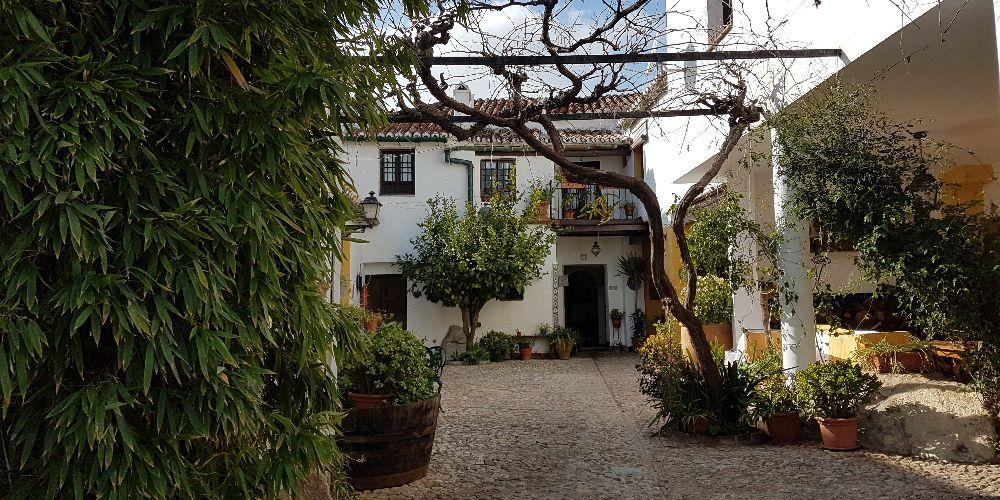 Terrace at Molino de los Abuelos, Comares