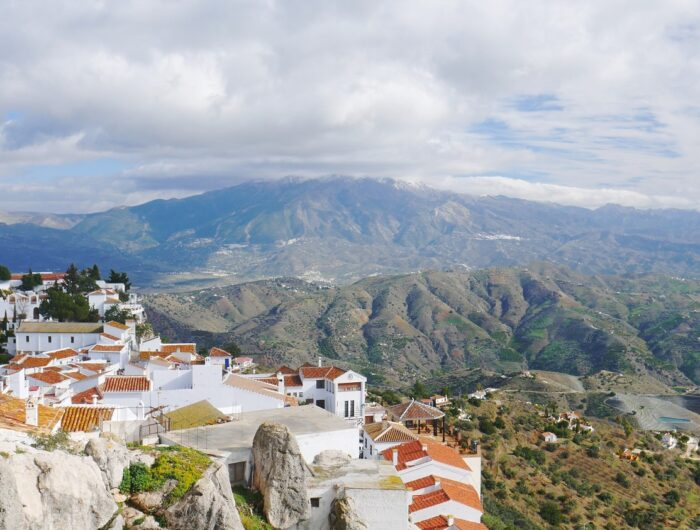 Comares from afar