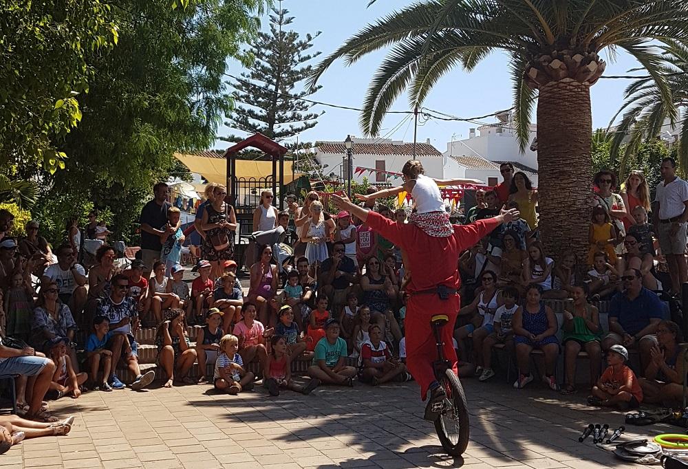 Childrens Performer Festival de 3 Culturas, Frigiliana