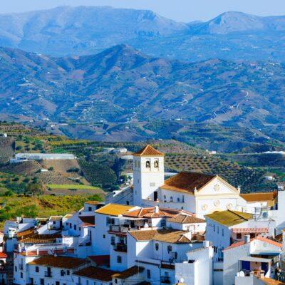 View of Iznate, Axarquia