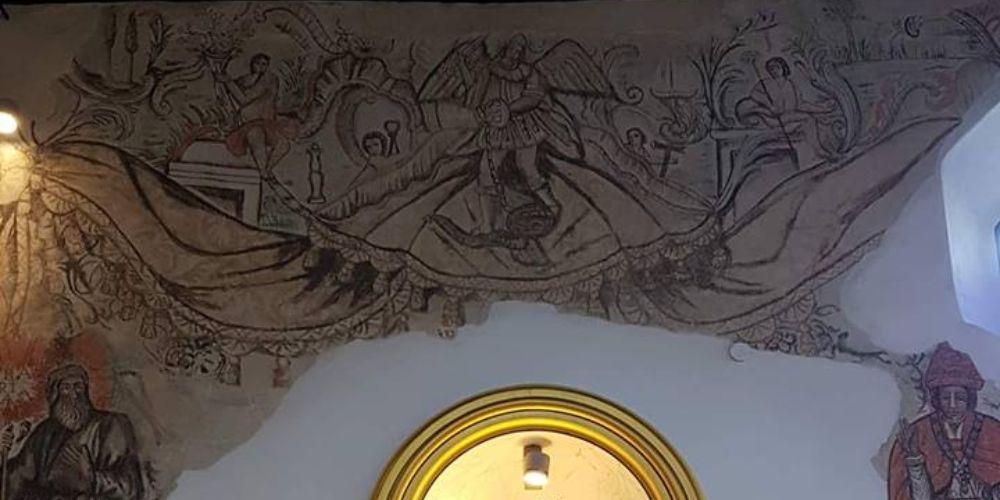 Mural in Canillas de Aceituno Church