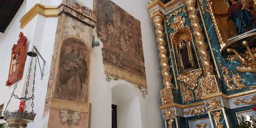 Murals in Canillas de Aceituno Church