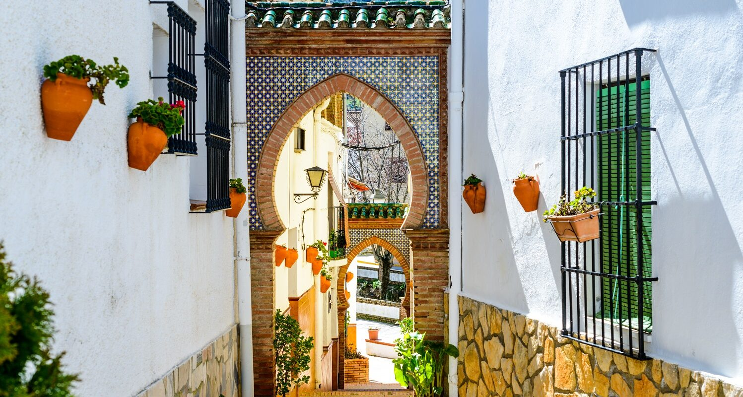 Alfarnate, Moorish Style Arches