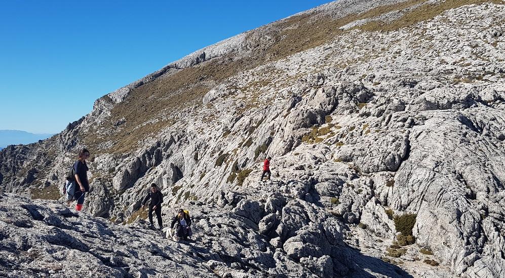 La Maroma, final climb