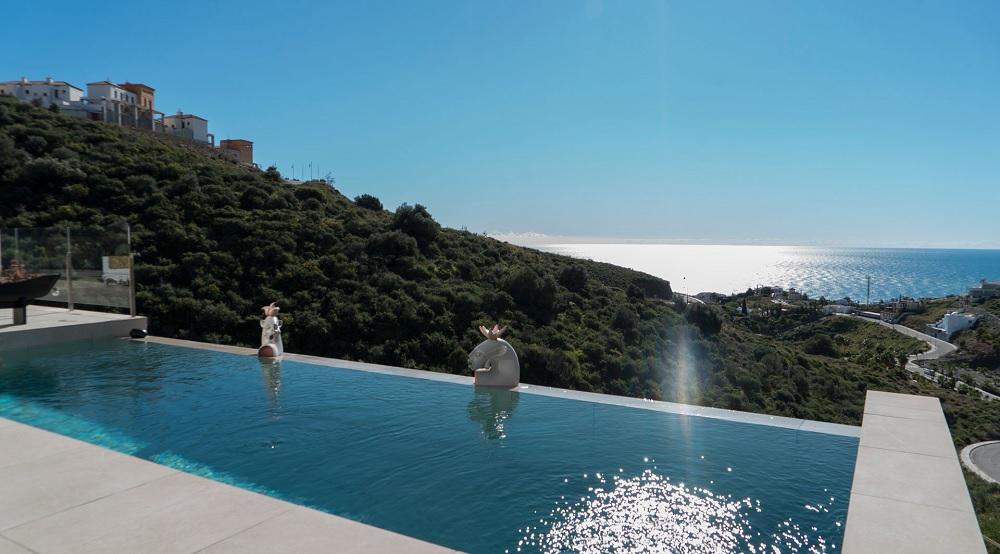 Pool at Hotel Casa Siempre Viva, Torrox