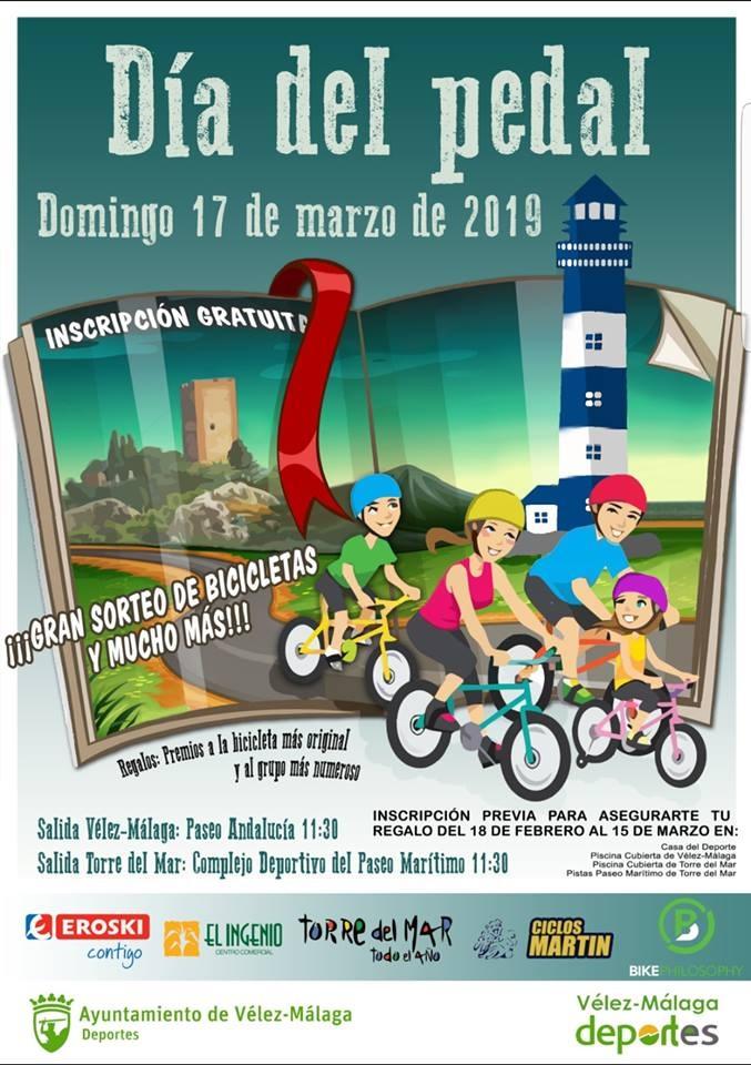 Dia del Pedal, Velez-Malaga