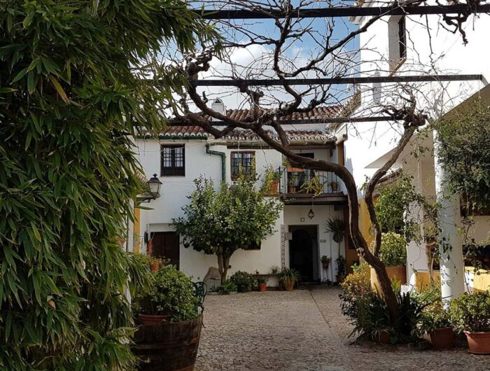 Comares B&B Courtyard