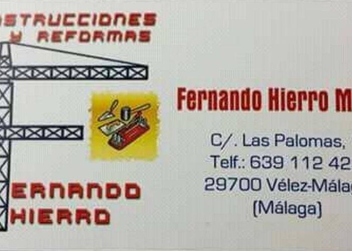 Fernando Hierro Construccion